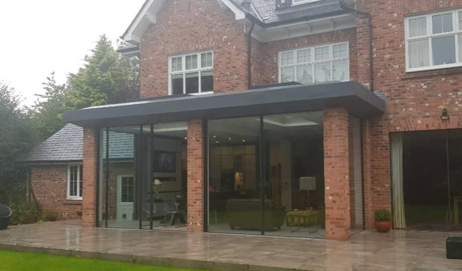 Active Building Control Residential kitchen extension in Dunham, Cheshire